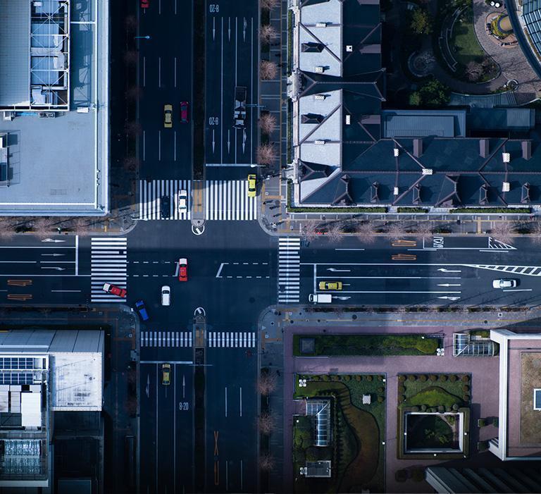 Ulica wcentrum miasta